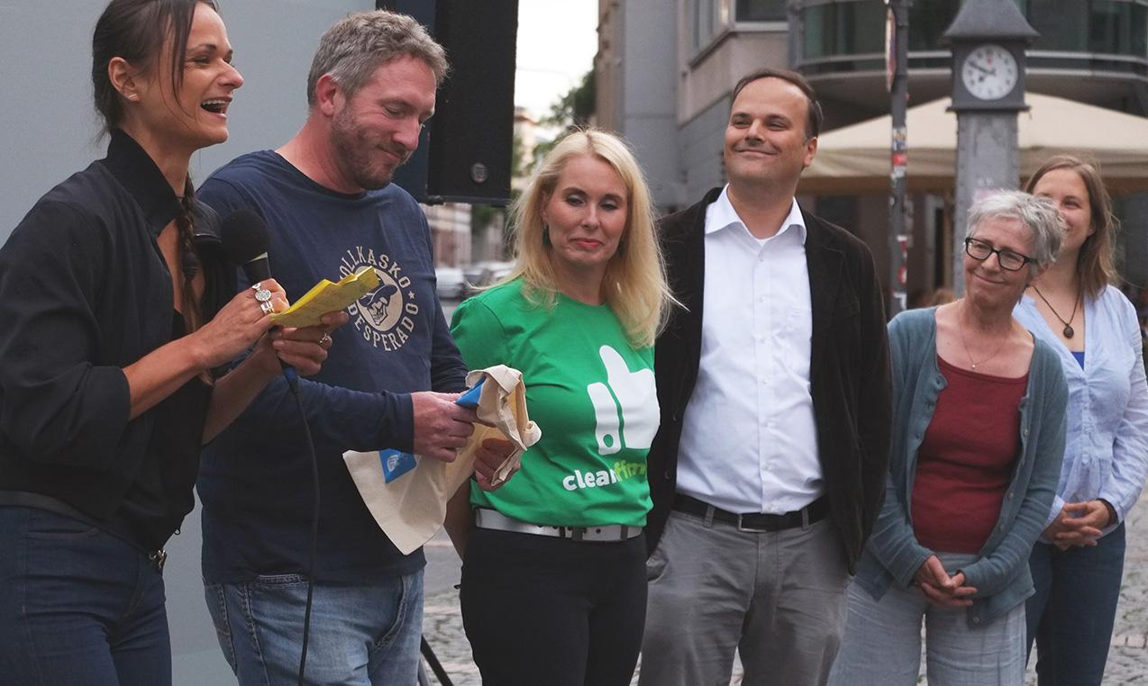 Plastikfrei: Moderation einer Diskussion in Bornheim