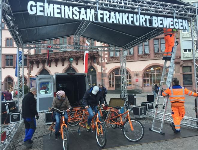 Earth Hour 2016 Gemeinsam Frankfurt bewegen