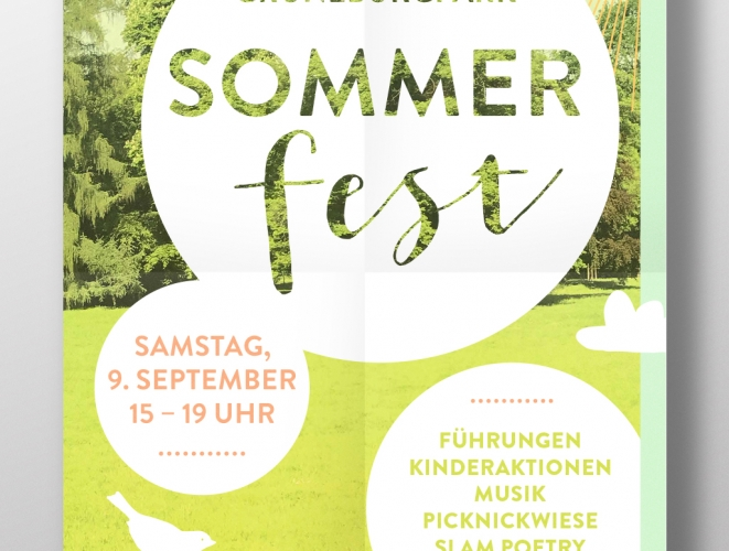 Grüneburgpark Sommerfest 2017